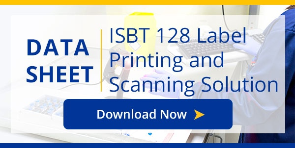 Title21 ISBT 128 Labeling Data Sheet