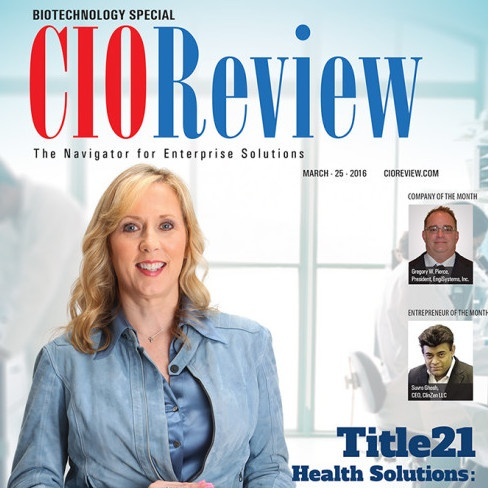 Title21 Health Solutions Headlines CIOReview as a Secret Weapon for Biotech and Regenerative Medicine